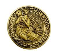 FaNaTtik Resident Evil 2 Replica 1/1 Maiden Medallion