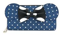 Loungefly Disney by  Wallet Minnie Mouse Dots