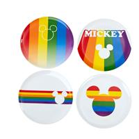 Funko Disney Plates 4-Pack Mickey Rainbow