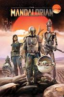 Pyramid International Star Wars: The Mandalorian Poster Pack Group 61 x 91 cm (5)