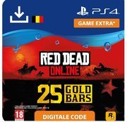 rockstar Red Dead Online - 25 Gold Bars - ps4