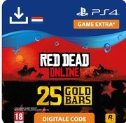 rockstar Red Dead Online: 25 Gold Bars - ps4