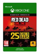 rockstar Red Dead Online: 25 Gold Bars