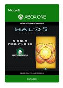 microsoft Halo 5: Guardians: 5 Gold REQ Packs