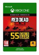rockstar Red Dead Online: 55 Gold Bars
