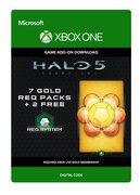 microsoft Halo 5: Guardians: 7 Gold REQ Packs + 2 Free