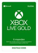 microsoft Xbox Live Gold 6 maanden