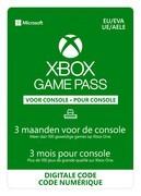 microsoft Xbox Game Pass 3 maanden