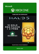 microsoft Halo 5: Guardians€ 10 Gold REQ Packs + 3 Free