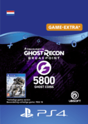 ubisoft Ghost Recon Breakpoint - 4800 (+1000) Ghost Coins - ps4