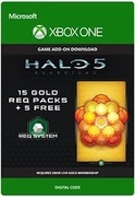 microsoft Halo 5: Guardians: 15 Gold REQ Packs + 5 Free