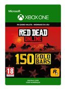 rockstar Red Dead Online: 150 Gold Bars