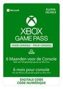 microsoft Xbox Game Pass 6 maanden