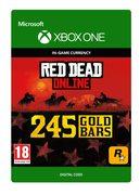 rockstar Red Dead Online: 245 Gold Bars