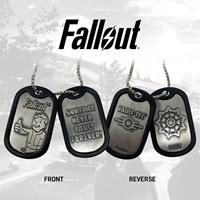 FaNaTtik Fallout Dog Tags with ball chain Logo