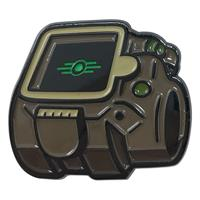FaNaTtik Fallout Pin Badge Vault-Tec Glow In The Dark Logo Limited Edition