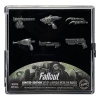 FaNaTtik Fallout Pin Badge 6-Pack Limited Edition