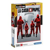 Clementoni Money Heist Jigsaw Puzzle Overall (500 pieces)