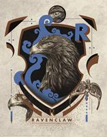 FaNaTtik Harry Potter Art Print Ravenclaw 36 x 28 cm