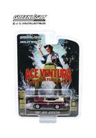 Greenlight Collectibles Ace Ventura Diecast Model 1/64 1967 Jeep Jeepster Convertible