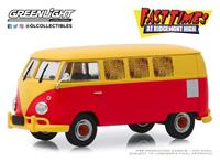 Greenlight Collectibles Fast Times at Ridgemont High Diecast Model 1/43 1967 Volkswagen Type 2 T1 Station Wagon