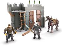 Mattel Game of Thrones Mega Construx Black Series Construction Set Winterfell Defense