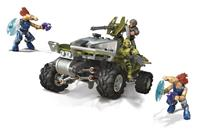 Mattel Halo Infinite Mega Construx Pro Builders Construction Set Warthog Rally