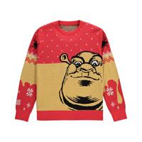 Difuzed Shrek Knitted Christmas Sweater Ogre Size L