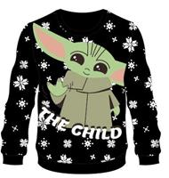 Difuzed Star Wars The Mandalorian Knitted Christmas Sweater The Child Size M