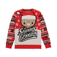 Difuzed Guardians of the Galaxy Knitted Christmas Sweater Season's Grootings Size XL
