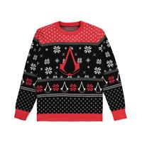 Assassins's Creed Knitted Christmas Sweater Logo Size M