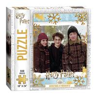 USAopoly Harry Potter Jigsaw Puzzle Christmas at Hogwarts (550 pieces)