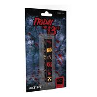 USAopoly Friday the 13th Dice Set 6D6 (6)