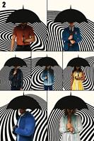 Pyramid International The Umbrella Academy Poster Pack Family 61 x 91 cm (5)