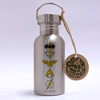 GB eye DC Comics Stainless Steel Water Bottle Logos