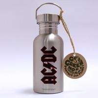 GB eye AC/DC Stainless Steel Water Bottle Logo