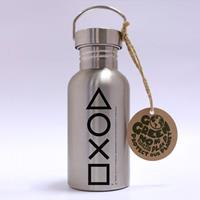 GB eye PlayStation Stainless Steel Water Bottle Buttons