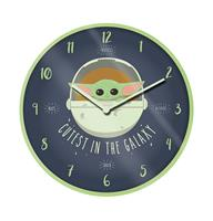Pyramid International Star Wars The Mandalorian Wall Clock Cutest In The Galaxy