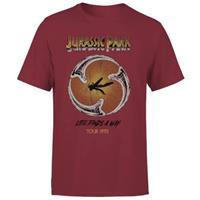 PCM Jurassic Park T-Shirt Life Finds A Way Tour Size XL