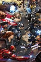Pyramid International Avengers Gamerverse Poster Pack Face Off 61 x 91 cm (5)