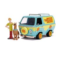 Jada Toys Scooby Doo Hollywood Rides Diecast Model 1/24 Mystery Van with Figures
