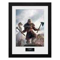 GB eye Assassins Creed Valhalla Collector Print Framed Poster Gold Edition
