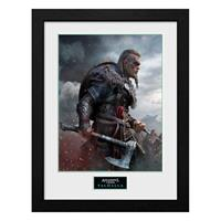 GB eye Assassins Creed Valhalla Collector Print Framed Poster Ultimate Edition