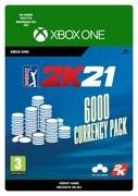 2K Games PGA Tour 2K21: 6000 Currency-pack