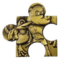 FaNaTtik Banjo-Kazooie Replica Jiggy Piece (gold plated)