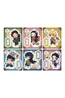 Megahouse Demon Slayer: Kimetsu no Yaiba Retro Acrylic Mascot Stand Assortment Outing Set (6)