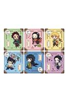 Megahouse Demon Slayer: Kimetsu no Yaiba Retro Acrylic Mascot Stand Assortment Outing Set Colorful Ver. (6)