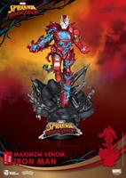 Beast Kingdom Toys Marvel Comics D-Stage PVC Diorama Maximum Venom Iron Man 16 cm