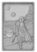 FaNaTtik Star Wars: The Mandalorian Iconic Scene Collection Limited Edition Ingot The Mandalorian