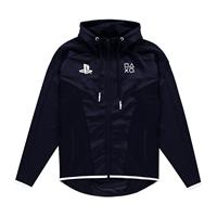 Difuzed Sony PlayStation Hooded Sweater Black & White Teq Size L